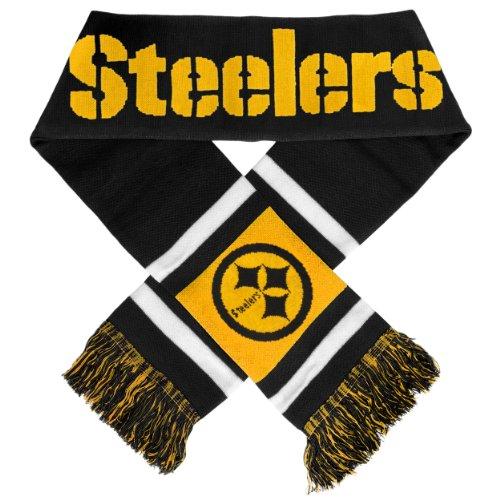 Team Stripe Scarf (NFL Pittsburgh Steelers 2012 Team Stripe Scarf)