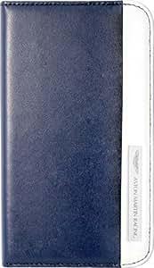 Aston Martin Racing - Funda tipo libro para Samsung Galaxy S3, diseño de Aston Martin, color azul y blanco