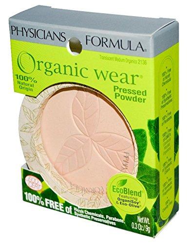 Physicians Formula Organic Wear 100% Natural Press…