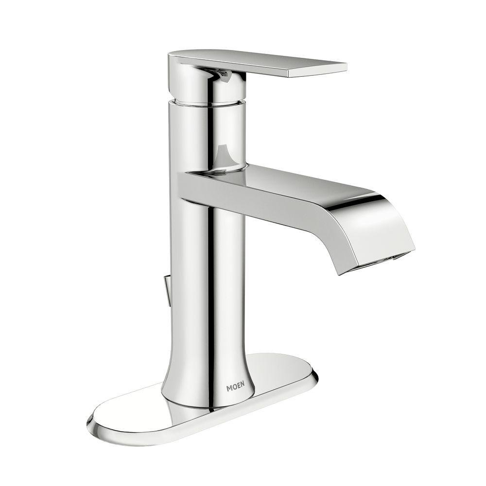 moen bathroom faucets cheap cheap moen 6702 genta one handle high arc bathroom faucet