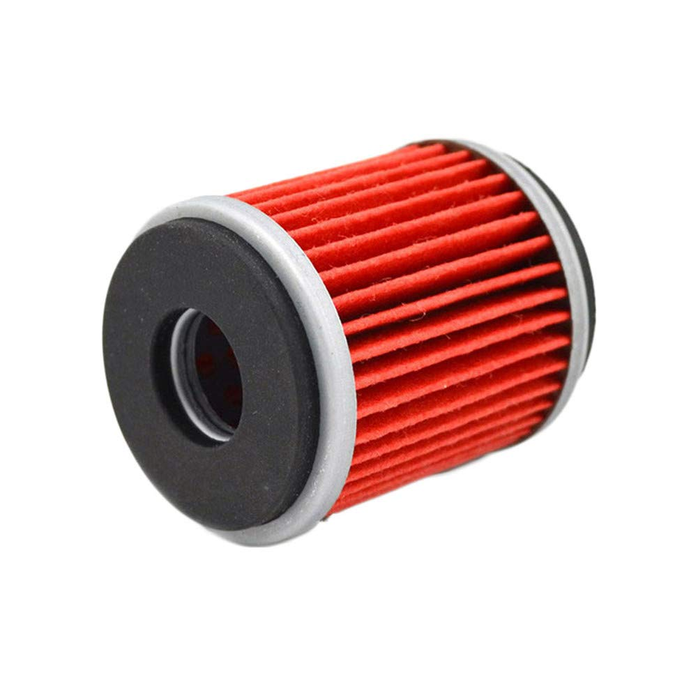 AHL 142 Oil Filter for Yamaha YZ426F YZ426 F 426 2000-2002 red
