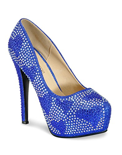 Yepme Blue Stilettos