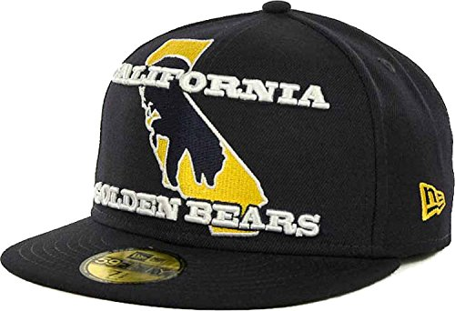 New Era College Baseball Hats - California Golden Bears Cal Berkeley New Era NCAA Fitted 59FIFTY Cap Hat