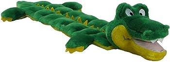 Outward Hound Squeaker Matz Squeaky Interactive Cuddly Gator Dog Toy