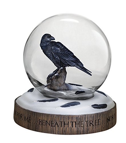 Deluxe Game of Thrones The Three-Eyed : Raven Snow Globe