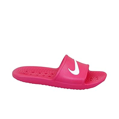 low priced 5d7bc 776f8 NIKE Boys Kawa Shower (gs) Sports Sandals, Multicolour (Rush PinkWhite