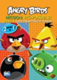 Angry Birds 2-in-1 Double Coloring and Activity Book