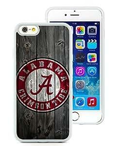 Southeastern Conference SEC Football Alabama Crimson Tide(1) White iPhone 6 4.7 inch TPU Cellphone Case Unique and Fashion Cover