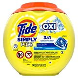Tide Simply Pods +oxi Liquid Laundry Detergent Pacs