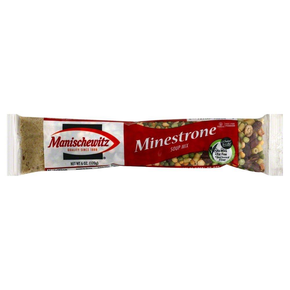 Manischewitz Minestrone Soup Mix 6.0 OZ(Pack of 3)