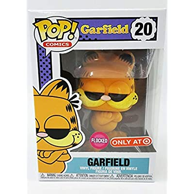 POP! Funko Comics - Garfield (Flocked) Limited Edition Exclusive: Toys & Games