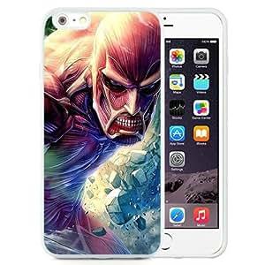 Attack on Titan 4 (2) Popular Sale iPhone 6plus 5.5 Inch TPU Custom Phone Case