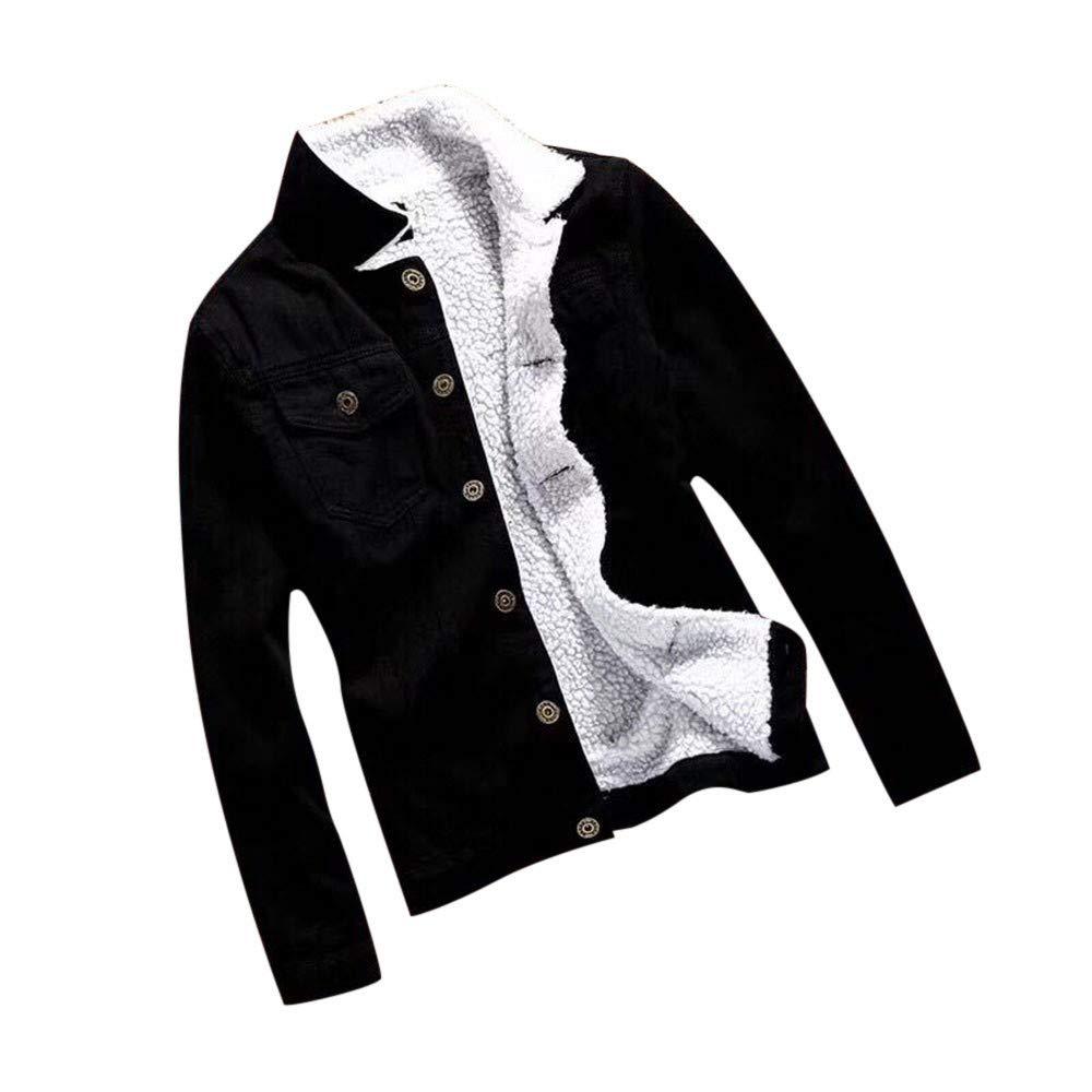 Oversized Denim Jacket Women Autumn Winter Denim Upset Vintage Boyfriend Long Sleeve Fall Warm Lined Jeans Coat by sheart 9