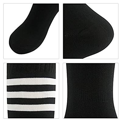Soccer Socks 3street Mens Cushioned Football Long Tube Knee-High Socks