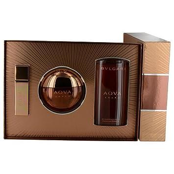 Smuk Amazon.com : BVLGARI Aqva Amara Premium Gift Set, 3.3 Fluid Ounce BX-69