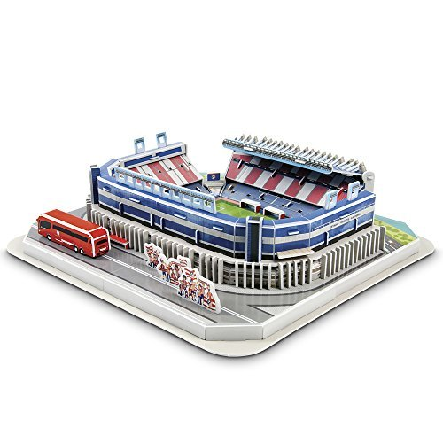 Atletico Madrid 'Vicente Calderon' Stadium 3D Puzzle - One Size