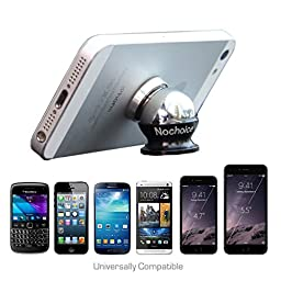 Nochoice® Magnetic Car Phone Holder Cradle Mount Kit for Cell phone (2 Magnets + 2 Balls)