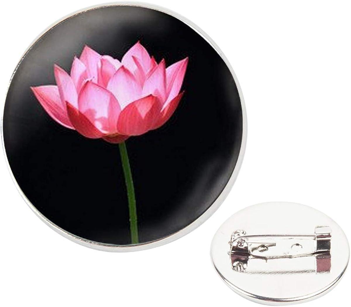 Pinback Buttons Badges Pins A Black Lotus Art Lapel Pin Brooch Clip Trendy Accessory Jacket T-Shirt Bag Hat Shoe