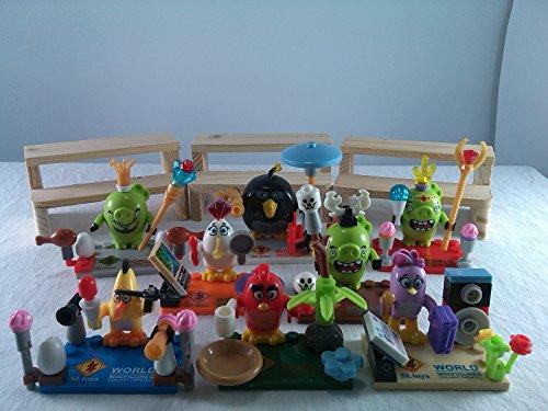 [SUPAK® Birds Cartoon Movie MiniFigures Toy Series Action Figure Building Blocks Brikcs Set Compatible] (Gogo Big Hero Six Costume)