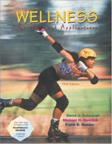 Wellness: Concepts and Applications with HealthQuest CD and Powerweb/OLC Bind-in Card