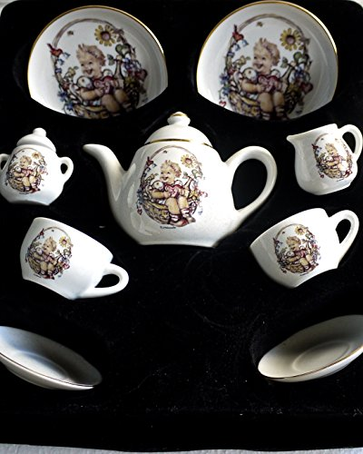 M. J. Hummel 11 piece Porcelain Tea ()