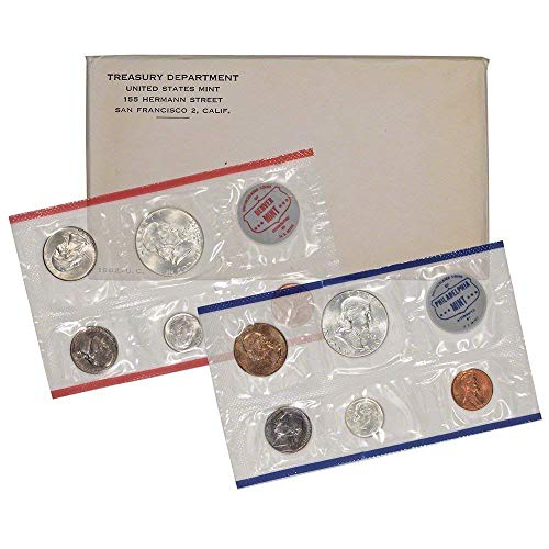 1962 P & D Mint Set Coins Uncirculated