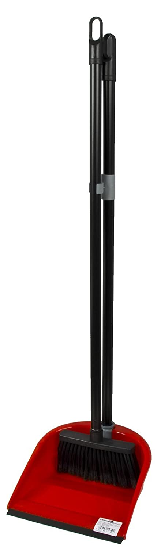 Balayette à long manche Polypropylène rouge Menz Stahlwaren GmbH 90x 24x 24cm Couleurs assorties Pelle