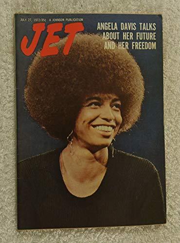 Angela Davis Talks About Her Future & Her Freedom - Jet Magazine - July 27, 1972 - Black Panther, Communist, Political Activist