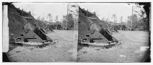 1862 Photo Yorktown  Va   Vicinity  13 In  Seacoast Mortars Of Federal Battery No  4  Right Bank Of Wormleys Creek Photograph From The Main Eastern Theater Of War  The Peninsular Campaign  May August