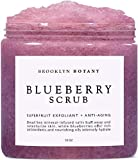 Brooklyn Botany Blueberry Body Scrub - For Anti Aging & Exfoliation - Great for Acne Scar, Spider Veins, Stretch Marks…