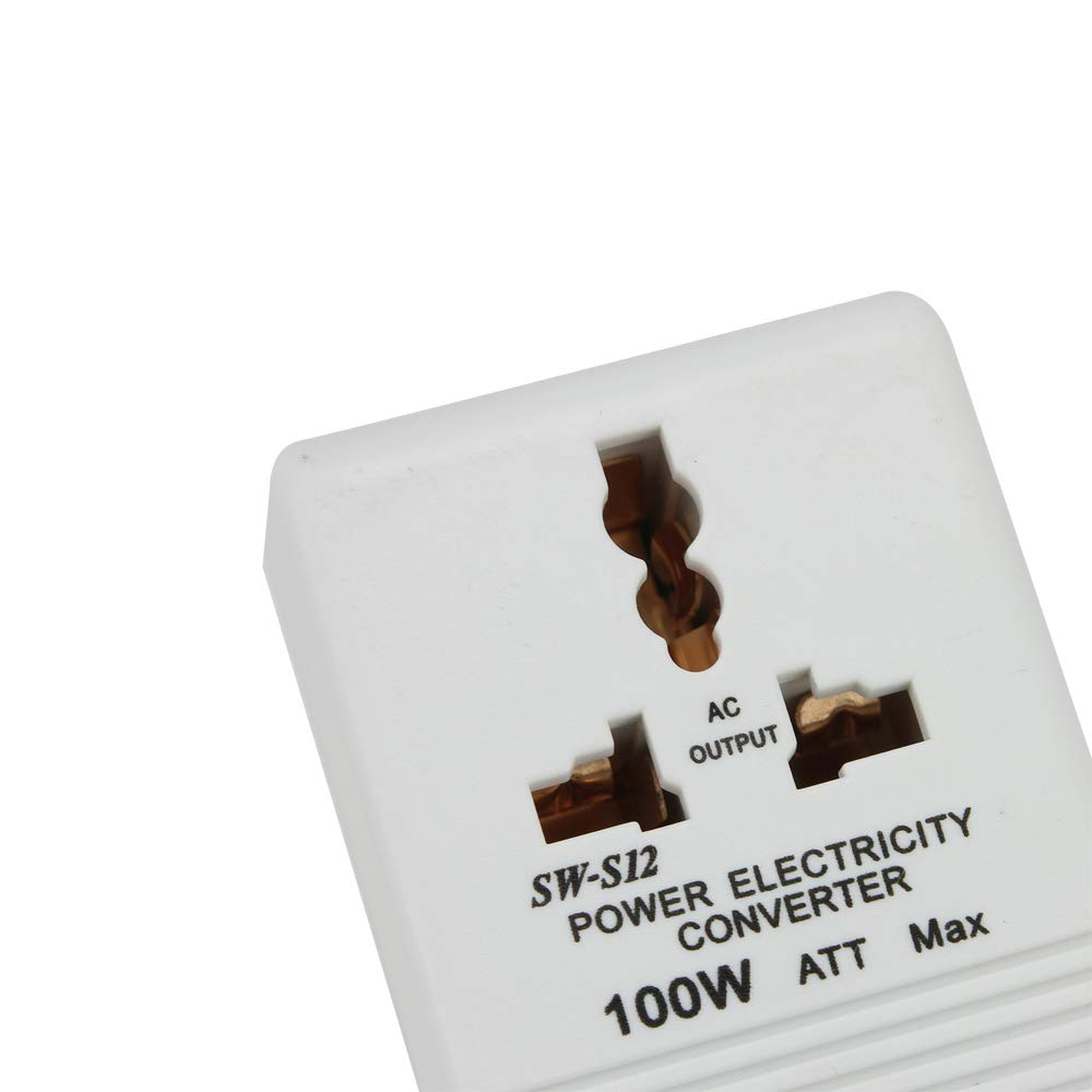 100w Lineba 110V to 220V Step-Up /& Down Power Voltage Converter Transformer for Travel