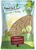 Organic Rolled Oats Food to Live (Old-Fashioned, 100% Whole Grain, Non-GMO, Kosher, Bulk, Product of the USA) — 5 Pounds