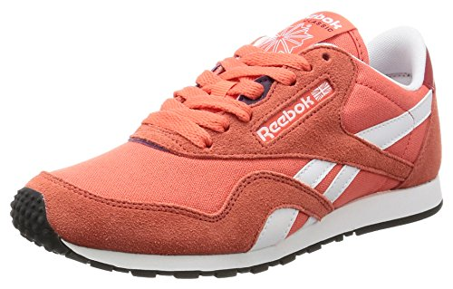 Fire Corsa Red Nylon White Purple Cl Donna Reebok Scarpe da Rosso Slim HV Coral Fire 4BaxTpf
