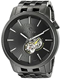Rip Curl Men's A2537-DSH Detroit Automatic Analog Display Japanese Automatic Silver Watch