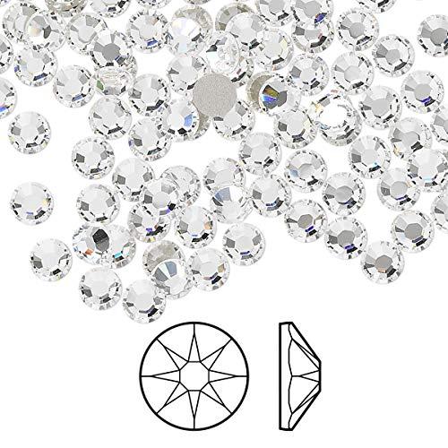 144 pcs Crystal Clear Flat Back Rhinestones, ss20 4.7mm