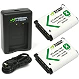 Wasabi Power Battery (2-Pack) and Dual Charger for Sony NP-BX1, NP-BX1/M8