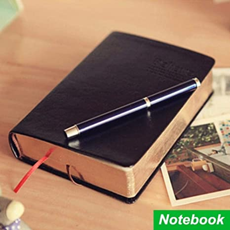 Amazon.com : Vintage Thick notebook Bible Diary Book Leather ...