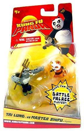Kung Fu Panda Movie Figure 2-Pack Tai Lung & Master Shifu