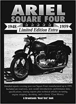 Book Ariel Square Four 1948-1959 Limited Edition Extra (Brooklands Books Road Test Series)