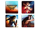 Wonder Woman Hardboard Coaster Set - Fight for Justice - 4 piece