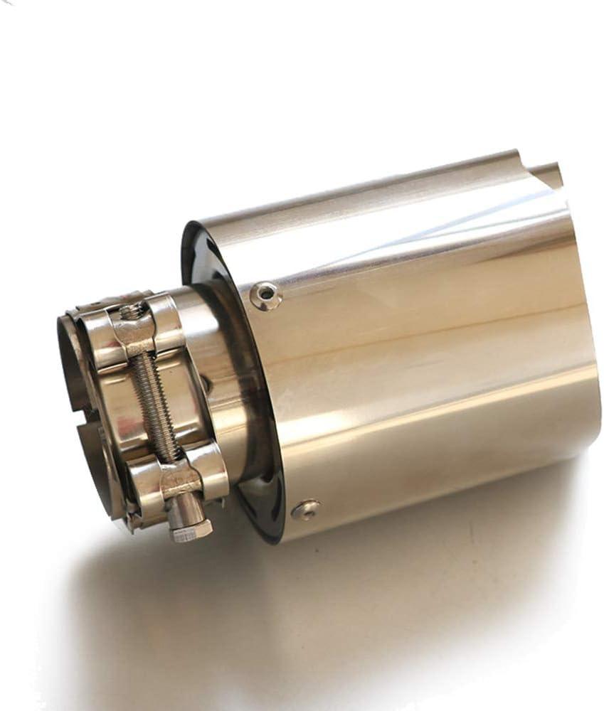 Jgf 48 51 54 57 60 63 66 70 73 76 Mm Auspuffblende Auspuffblende Universal Auspuffblende Edelstahl Auspuff Blende Mehrere Größen Verfügbar 1pc 48mm Auto