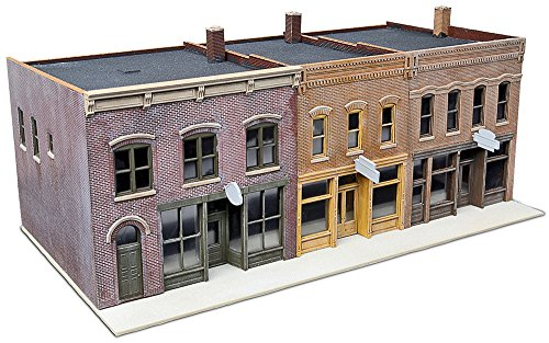Walthers SceneMaster Merchant Row IV (Buildings Ho Train)