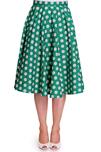 Hell-Bunny-50s-Plus-Dots-Love-Green-White-Polka-Dot-Mariam-Circle-Swing-Skirt
