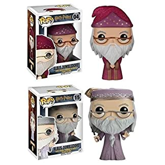 Figurine pop Harry Potter - Pack Album Dumbledore Pop Vinyle