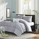 Mizone Mirimar Comforter Set, King/California King, Grey