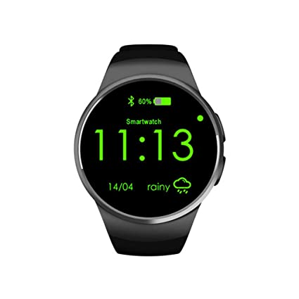 Amazon.com: Reloj inteligente, pantalla táctil, Bluetooth ...