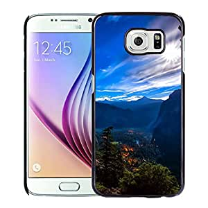 New Beautiful Custom Designed Cover Case For Samsung Galaxy S6 With Yosemite National Park View Phone Case