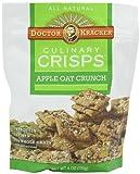 Doctor Kracker Culinary Crisps, Apple Oat Crunch, 6-ounce