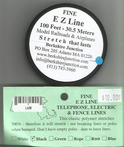 EZLine Simulating Wires Charcoal/Black - Fine