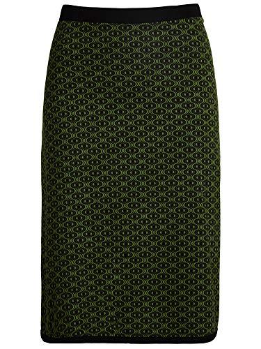 King Louie - Jupe - Trapze - Femme Grass Green